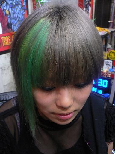 シルバーにポイント緑カラー Other Style